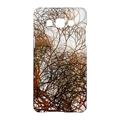 Digitally Painted Colourful Winter Branches Illustration Samsung Galaxy A5 Hardshell Case