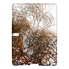 Digitally Painted Colourful Winter Branches Illustration Samsung Galaxy Tab S (10.5 ) Hardshell Case