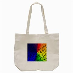 A Creative Colorful Background Tote Bag (cream)