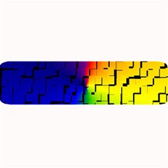 A Creative Colorful Background Large Bar Mats