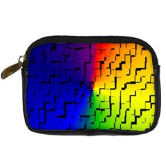 A Creative Colorful Background Digital Camera Cases