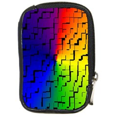 A Creative Colorful Background Compact Camera Cases