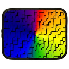 A Creative Colorful Background Netbook Case (XL)