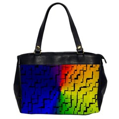 A Creative Colorful Background Office Handbags