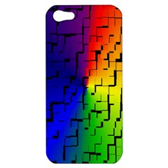 A Creative Colorful Background Apple Iphone 5 Hardshell Case
