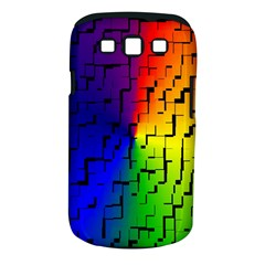 A Creative Colorful Background Samsung Galaxy S III Classic Hardshell Case (PC+Silicone)