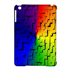 A Creative Colorful Background Apple Ipad Mini Hardshell Case (compatible With Smart Cover)