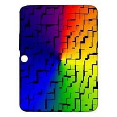 A Creative Colorful Background Samsung Galaxy Tab 3 (10.1 ) P5200 Hardshell Case