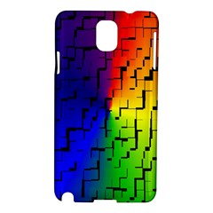 A Creative Colorful Background Samsung Galaxy Note 3 N9005 Hardshell Case
