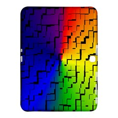 A Creative Colorful Background Samsung Galaxy Tab 4 (10 1 ) Hardshell Case