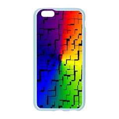 A Creative Colorful Background Apple Seamless iPhone 6/6S Case (Color)