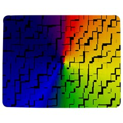 A Creative Colorful Background Jigsaw Puzzle Photo Stand (rectangular)
