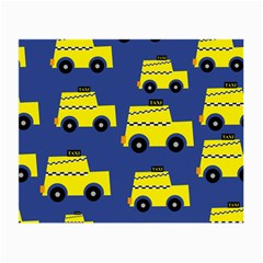 A Fun Cartoon Taxi Cab Tiling Pattern Small Glasses Cloth