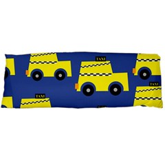 A Fun Cartoon Taxi Cab Tiling Pattern Body Pillow Case (Dakimakura)