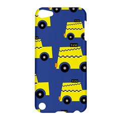 A Fun Cartoon Taxi Cab Tiling Pattern Apple Ipod Touch 5 Hardshell Case