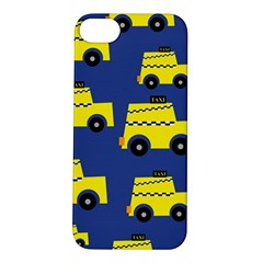 A Fun Cartoon Taxi Cab Tiling Pattern Apple Iphone 5s/ Se Hardshell Case