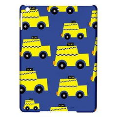 A Fun Cartoon Taxi Cab Tiling Pattern Ipad Air Hardshell Cases