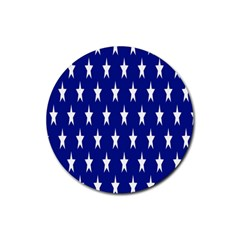 Starry Header Rubber Round Coaster (4 Pack)