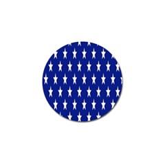 Starry Header Golf Ball Marker
