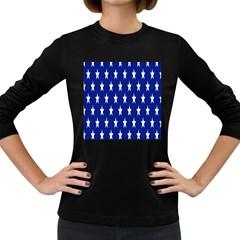 Starry Header Women s Long Sleeve Dark T-Shirts