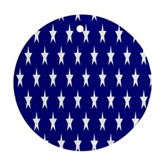 Starry Header Round Ornament (Two Sides)