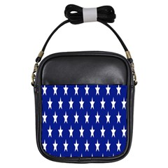 Starry Header Girls Sling Bags