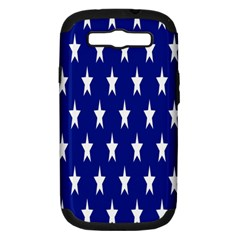 Starry Header Samsung Galaxy S Iii Hardshell Case (pc+silicone)