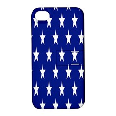 Starry Header Apple Iphone 4/4s Hardshell Case With Stand