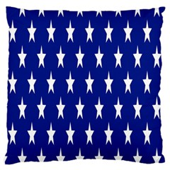 Starry Header Large Flano Cushion Case (one Side)