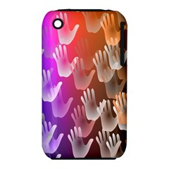 Clipart Hands Background Pattern Iphone 3s/3gs
