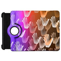 Clipart Hands Background Pattern Kindle Fire HD 7