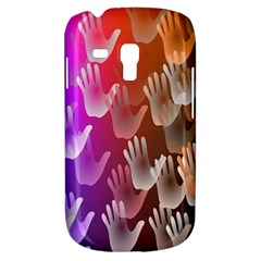 Clipart Hands Background Pattern Galaxy S3 Mini