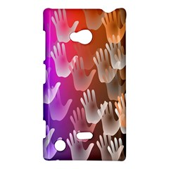 Clipart Hands Background Pattern Nokia Lumia 720