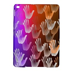 Clipart Hands Background Pattern Ipad Air 2 Hardshell Cases