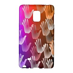 Clipart Hands Background Pattern Galaxy Note Edge