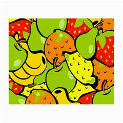 Digitally Created Funky Fruit Wallpaper Small Glasses Cloth