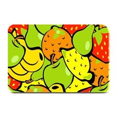 Digitally Created Funky Fruit Wallpaper Plate Mats