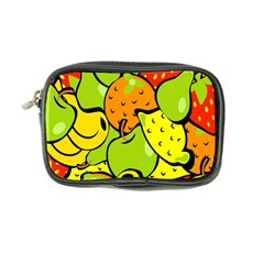 Digitally Created Funky Fruit Wallpaper Coin Purse