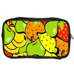 Digitally Created Funky Fruit Wallpaper Toiletries Bags