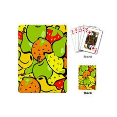 Digitally Created Funky Fruit Wallpaper Playing Cards (Mini)