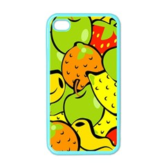Digitally Created Funky Fruit Wallpaper Apple iPhone 4 Case (Color)