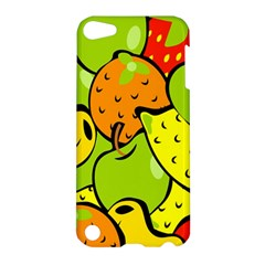 Digitally Created Funky Fruit Wallpaper Apple Ipod Touch 5 Hardshell Case