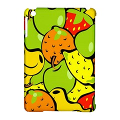 Digitally Created Funky Fruit Wallpaper Apple Ipad Mini Hardshell Case (compatible With Smart Cover)