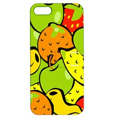 Digitally Created Funky Fruit Wallpaper Apple Iphone 5 Hardshell Case With Stand