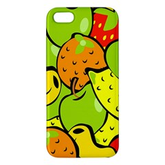 Digitally Created Funky Fruit Wallpaper Apple Iphone 5 Premium Hardshell Case