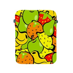 Digitally Created Funky Fruit Wallpaper Apple iPad 2/3/4 Protective Soft Cases