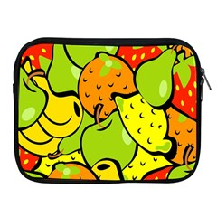 Digitally Created Funky Fruit Wallpaper Apple iPad 2/3/4 Zipper Cases