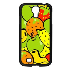 Digitally Created Funky Fruit Wallpaper Samsung Galaxy S4 I9500/ I9505 Case (black)
