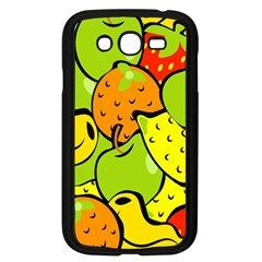 Digitally Created Funky Fruit Wallpaper Samsung Galaxy Grand Duos I9082 Case (black)