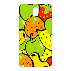 Digitally Created Funky Fruit Wallpaper Samsung Galaxy Note 3 N9005 Hardshell Back Case
